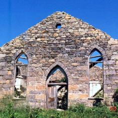 3 Ruines Église Rivière À La Guerre
