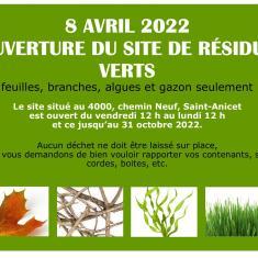 Site De Résidus Verts