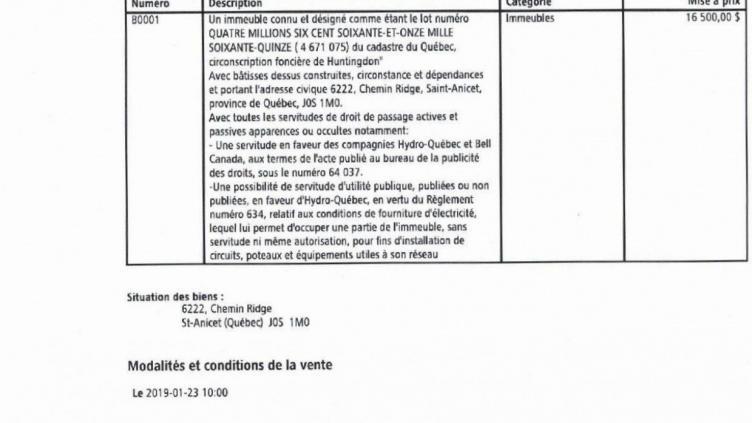 Avis De Publication Vente 23 01 19